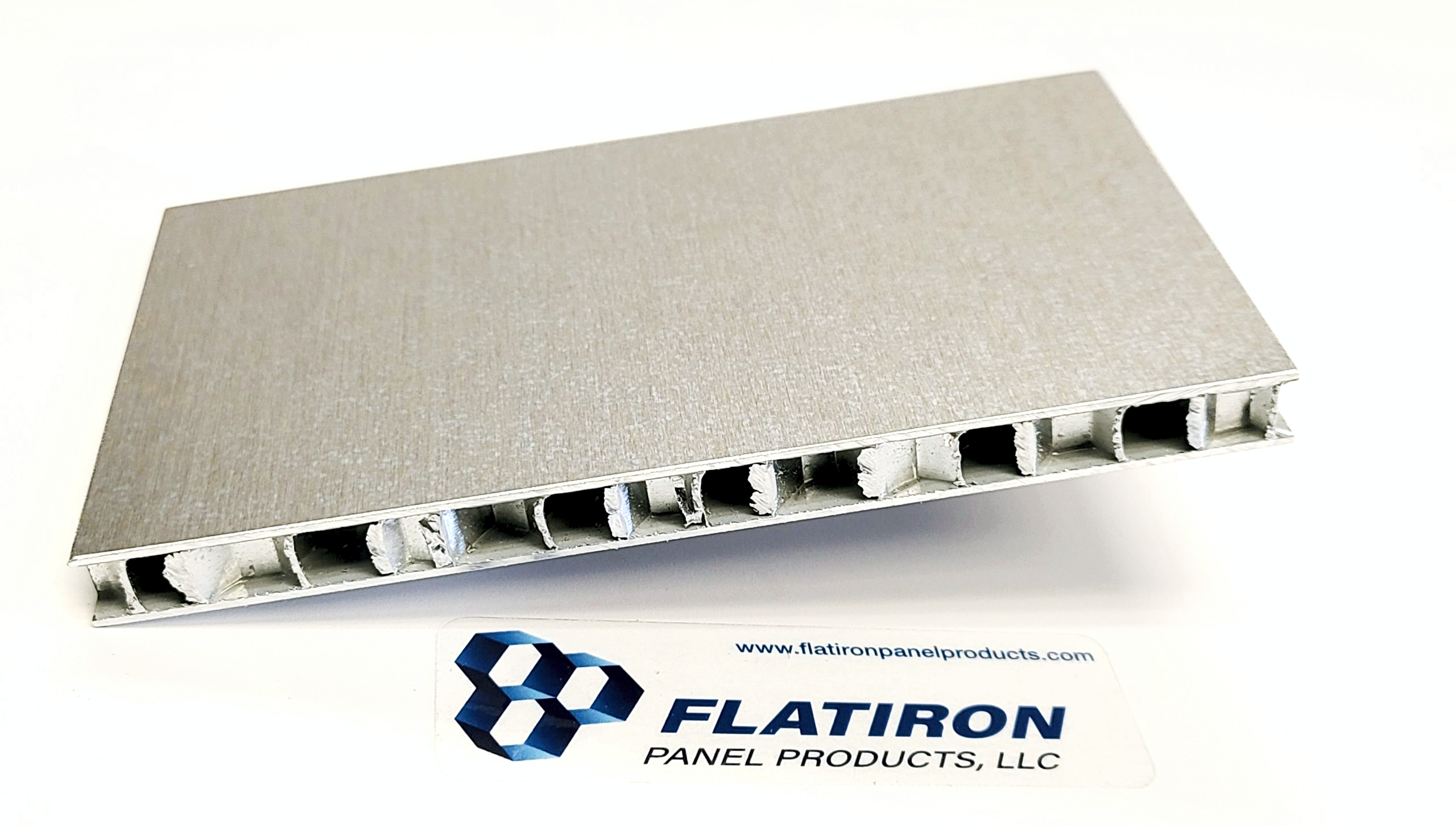 """Aluminum Honeycomb Panels - 0.125""""T x 12 Inch x 12 Inch - Mill Finish Face Sheets"""